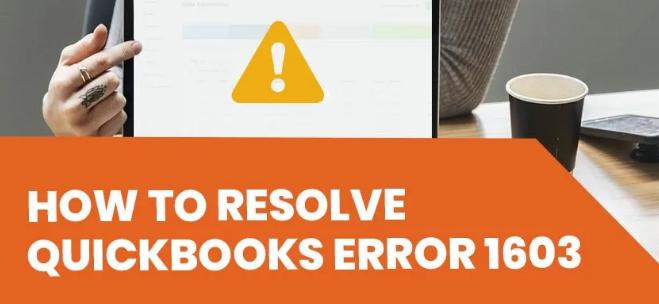 QuickBooks Update Error 1603