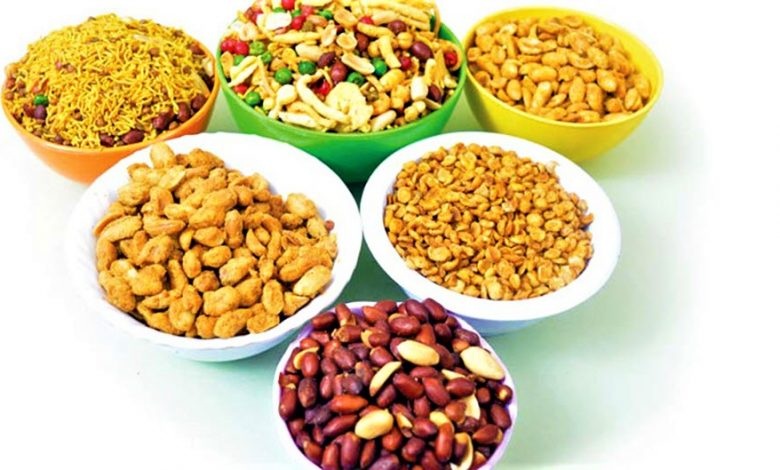 Indian namkins food products exporters