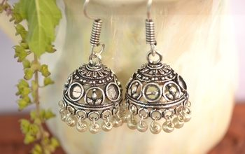 Photo of Want to buy the eye catching silver oxidised jewellery earrings through online