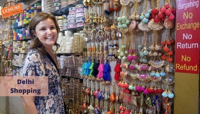Delhi Woman Shopping