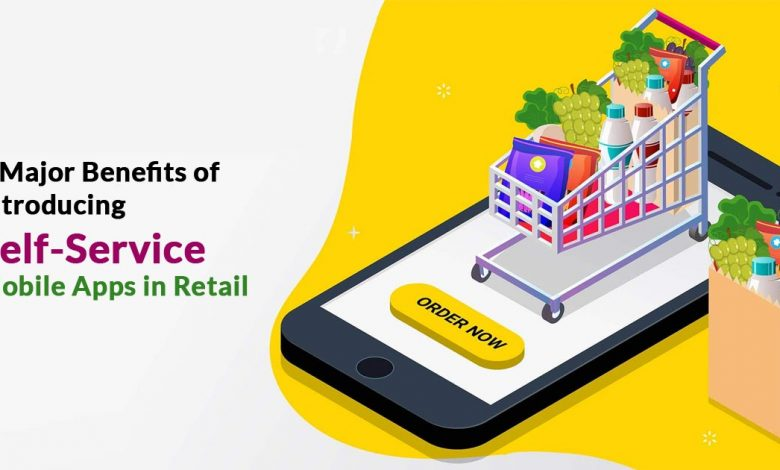 Self-Service Mobile Apps in Retail