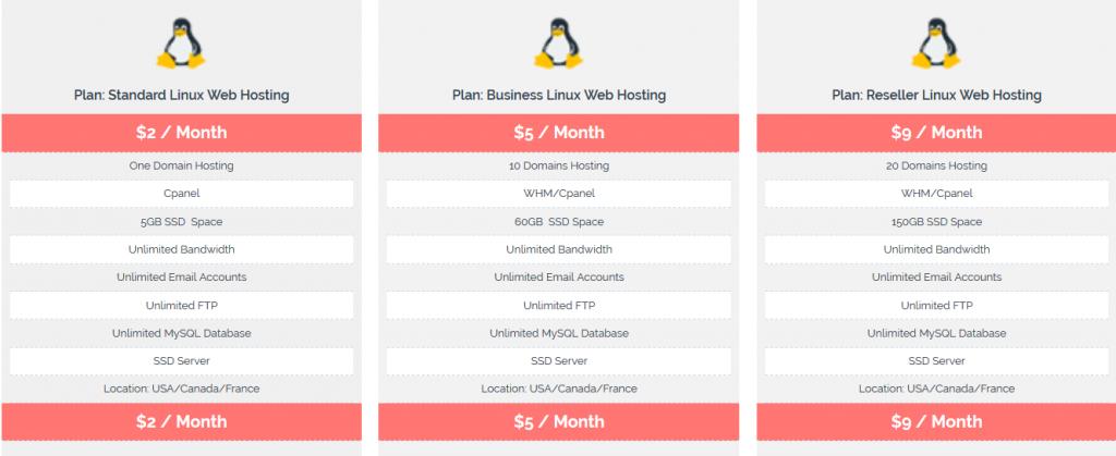 Linux Web Hosting - Onlive Server