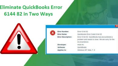 Photo of How to you Solve QuickBooks Error 6144 82?