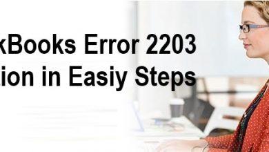 Photo of Resolve QuickBooks Error 2203 Instantly