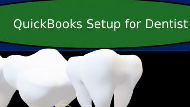 Photo of QuickBooks Setup for Dentist
