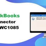 QuickBooks Web Connector Error QBWC1085