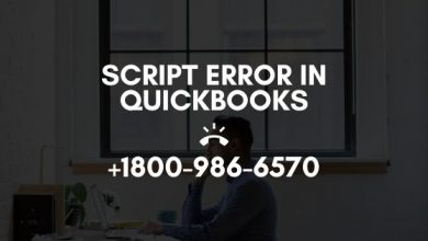 Photo of Script Error in QuickBooks | +18OO-986-657O | How to Solve?