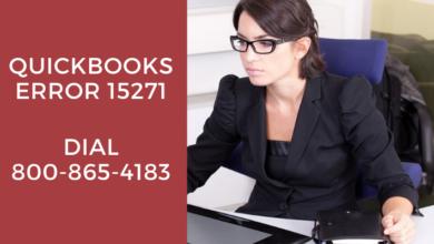 Photo of QuickBooks Error 15271: Dial 800-865-4183