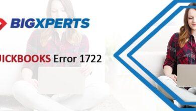 Photo of QuickBooks Error Code 1722