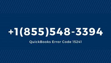 Photo of QuickBooks Error 15241