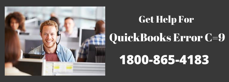 Quickbooks error C=9