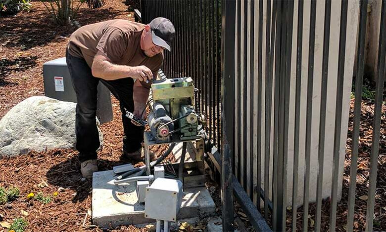 Automatic Gate repair services by PSS Garage