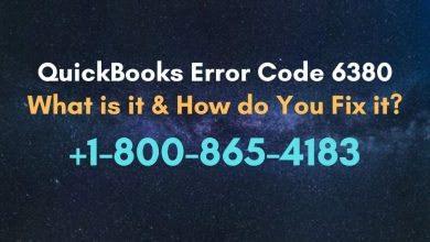 Photo of QuickBooks Error Code 6380: 1-800-865-4183 How Do You Fix It?
