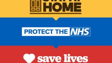 Photo of Protect the NHS, Stay home and Save Lives
