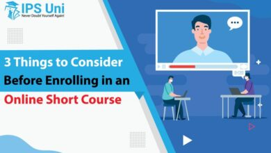 Photo of 3 Things to Consider Before Enrolling in an Online Short Course