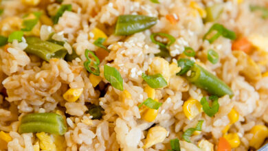 Photo of How to Cook Egg fried rice with leftover Rice