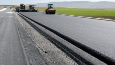 Photo of bituminous road construction tips