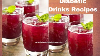 Photo of The Best Diabetic Drinks Recipes-Friendly Drinks for Any Occasion !