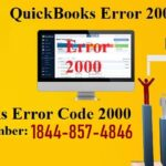 QuickBooks Error Code 2000