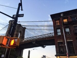 Brooklyn Bridge you will see often after moving to Brooklyn.