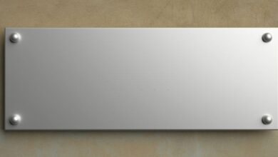 Photo of What Type Of Nameplate Fits Your Needs