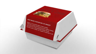 Photo of Get Custom Burger Boxes Packaging wholesale at iCustomBoxes