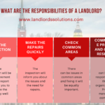 What are the responsibilities of a landlord