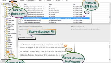 Photo of Best Aid For EDB files Recovery: SysOZ EDB to PST Converter