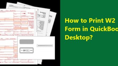 Photo of What is W2 form in QuickBooks and how to print W2 form?