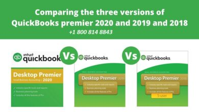 Photo of Comparing the three versions of QuickBooks premier 2020 and 2019 and 2018