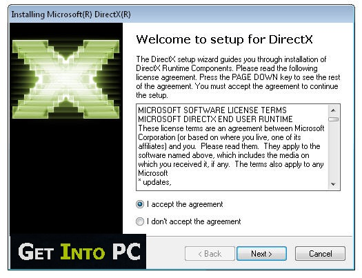 DirectX Download Install Windows 10 64-Bit