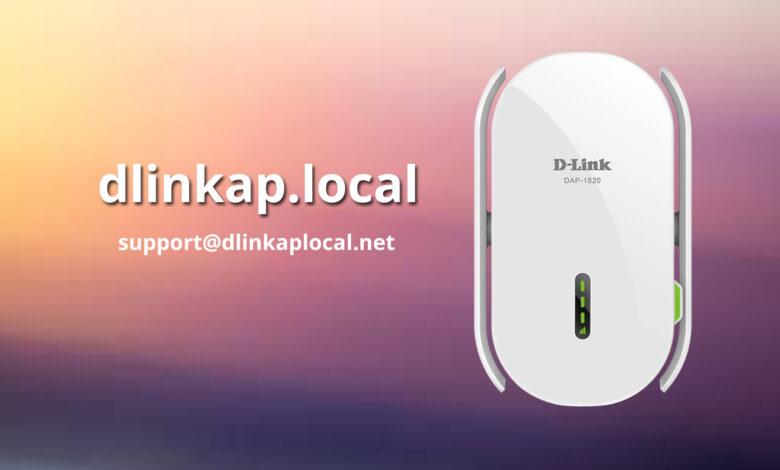http //dlinkap.local not wokring