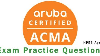 Photo of Frequently Updated HPE Aruba Certified HPE6-A71 Exam VCE Questions-Achievement In Your Hands 2021