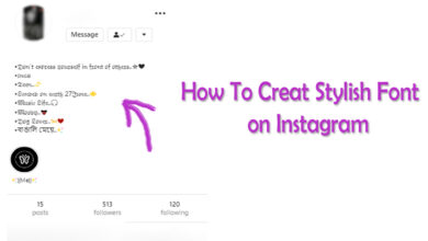 Photo of How you can get cool font for instagram