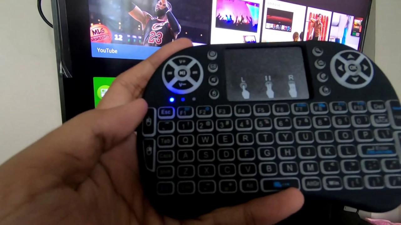 wireless keyboard for smart tv