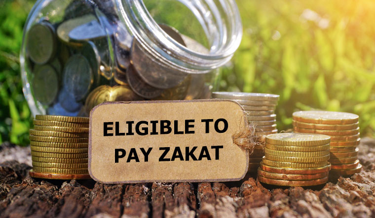 Zakat calculated on the property