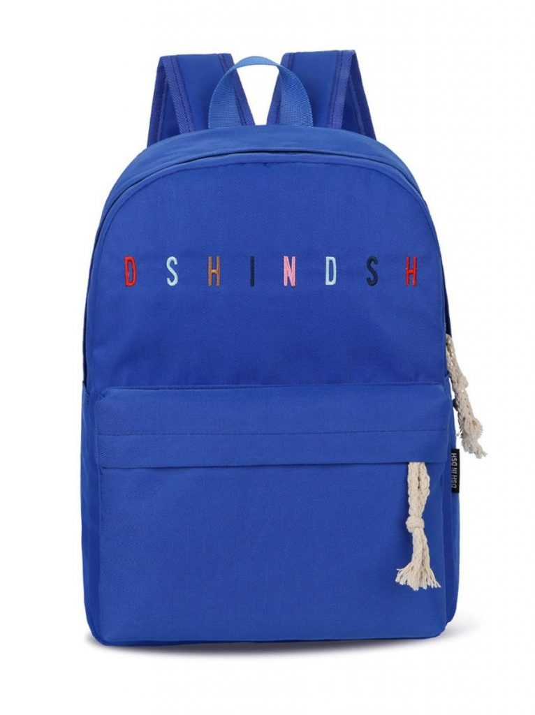 KID OXFORD CLOTH EMBROIDER ALPHABET SCHOOL BAG