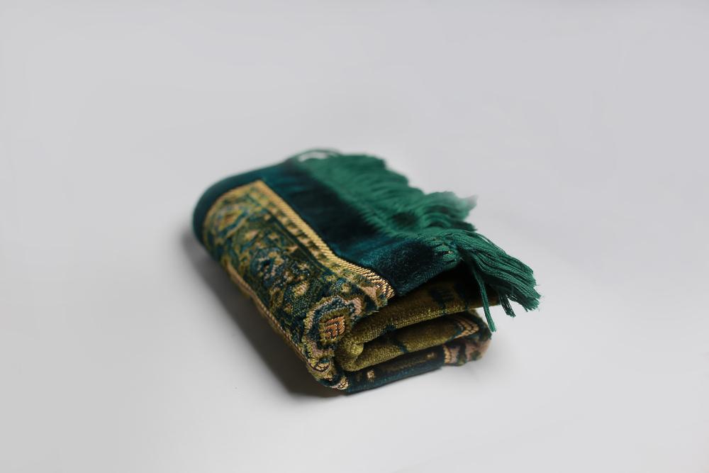 Green Color Prayer Mats