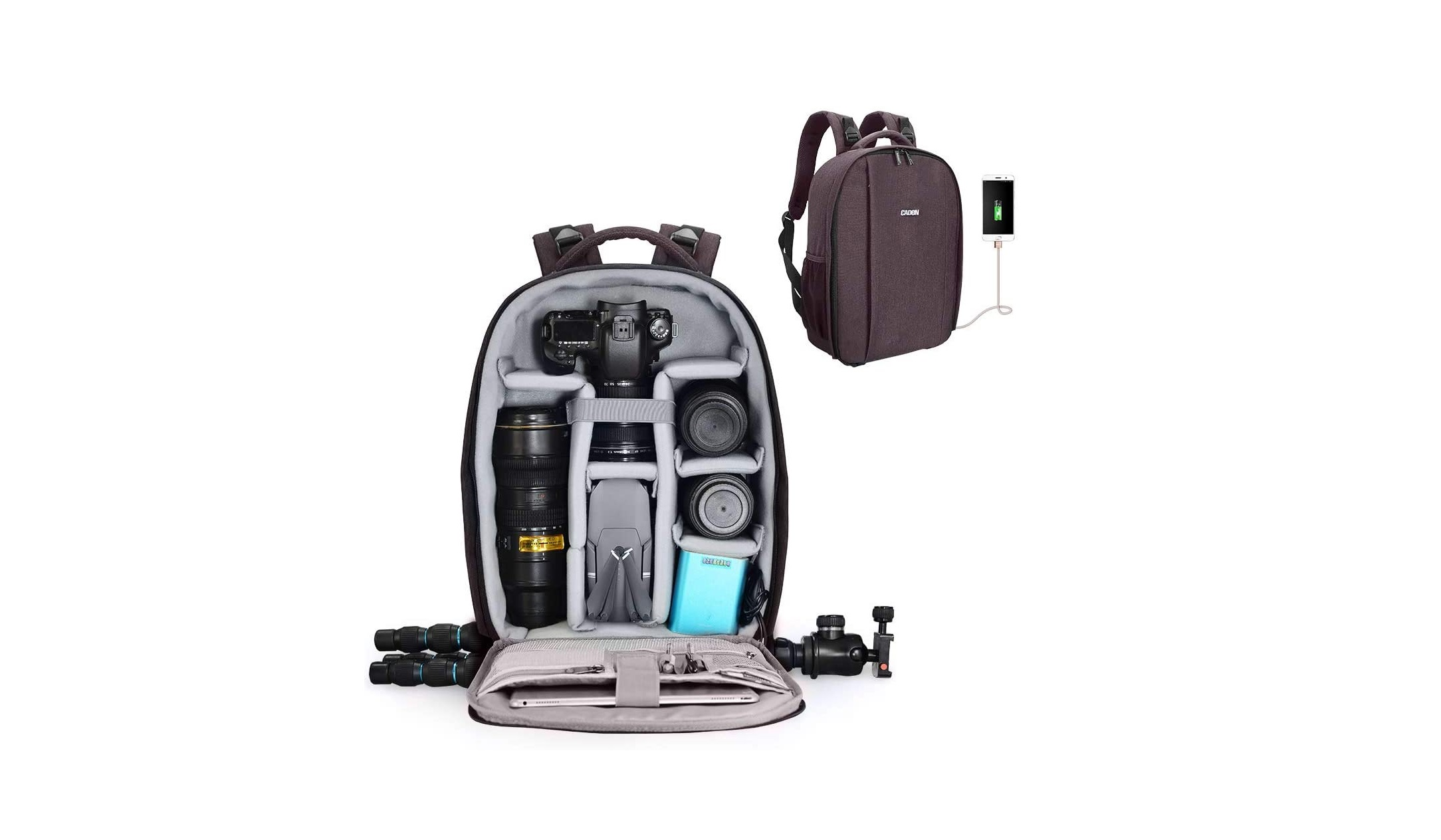Backpack for Drone And Laptop