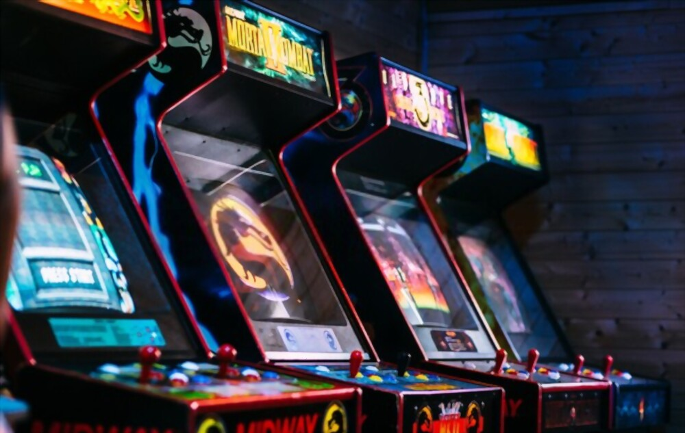 classic game collection arcade