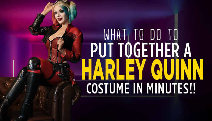 Get Harley Quinn Costume in Minutes