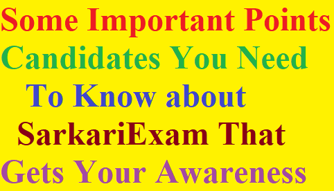 Aspirants You Need to Know about SarkariExam